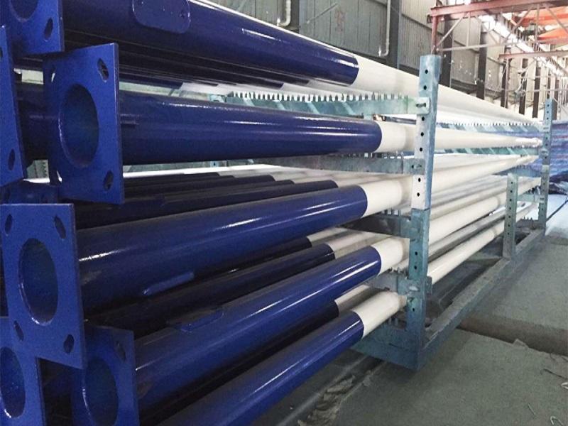 Polonais de réverbère en acier galvanisés à chaud de 3-12 mètres galvanisés