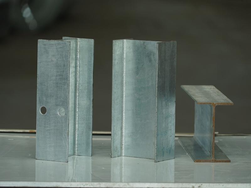 Entretoise H de garde-corps en acier galvanisé pour système de barrière de sécurité
