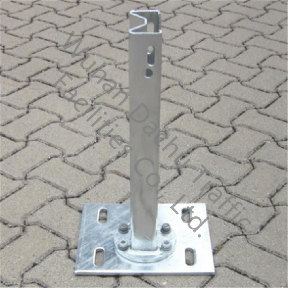 Poteaux de garde-corps Sigma galvanisés à chaud Q235