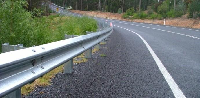 Glissière de sécurité de la route W Beam